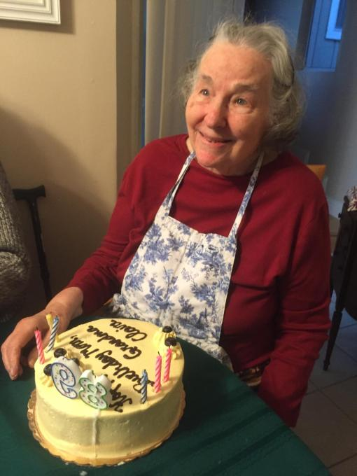 Mom's 89th Birthday, December 2015